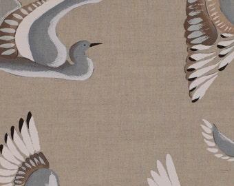 Manuel Canovas Pillow Cover Linen & Cotton Blue Birds