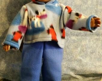 """18"""" doll fleece sweatsuit"""