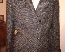 jacket wool thick curved crossroads