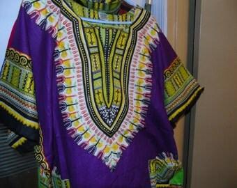 African Dashiki  Free size