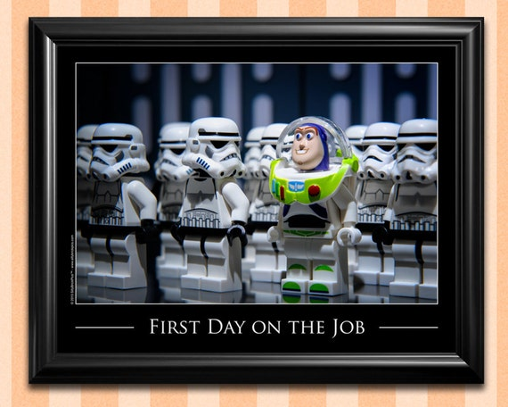 Star wars lego style kids room decor original by for Star wars kids room decor