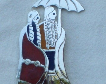 Lakota Courtship Pin