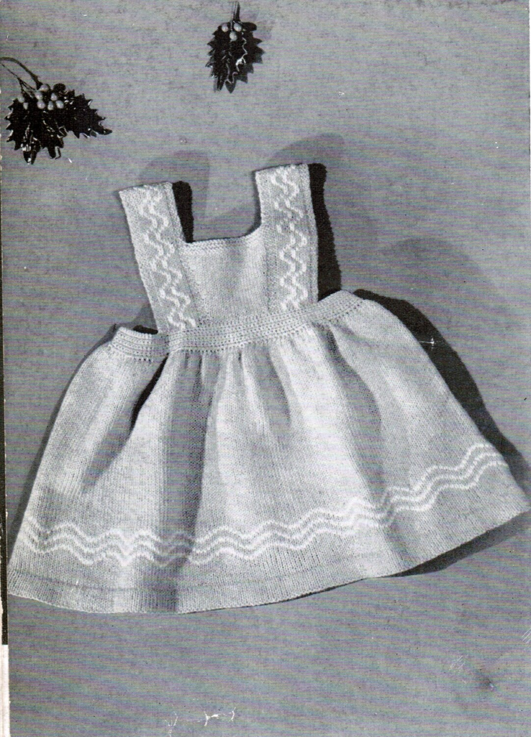 Knitting Pattern Jumper Dress : Toddler dress jumper knitting pattern PDF / by CreeksideCharms