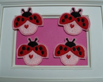 Valentine Love Bug Felties