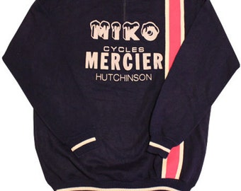 "70's ""MIKO MERCIER"" vintage cycle jersey made in France"