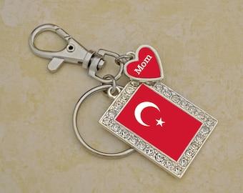 Custom Family Turkey Keychain - FLAGTR54592