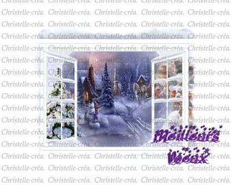 beautiful greeting card happy holidays