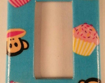 Paul Frank Fabric Light Switch Cover.