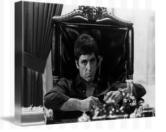 Scarface Canvas Art Picture Huge A1 Size 32 X 22 New