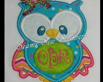 Hootie Cutie Owl Ensemble  - Shirt & Ruffle Pants for Girls