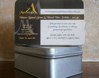 Marcus Art Stone and wood Wax