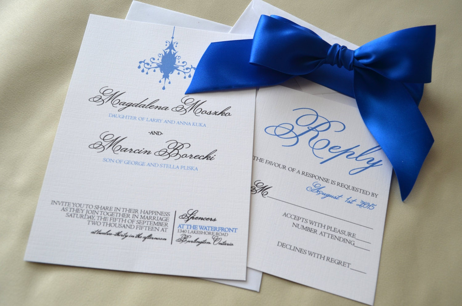 Royal Blue Wedding Invitation Cards: Royal Blue Wedding Invitation White And Royal Blue