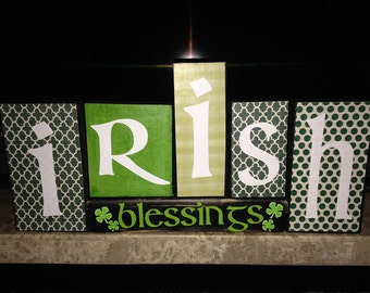 Saint Patricks Day Blocks