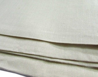 Khadi Fabric, Pastel Brown, Pale Yellow Fabric, Plain Weave Fabric,Regular Cotton, Handspun Fabric, Handwoven Fabric, Handloom Cotton,