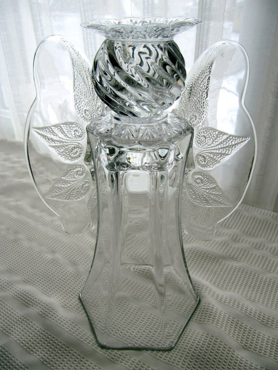 Angels Made From Glass Vases