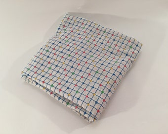 Vintage 80's Fitted Crib Sheet