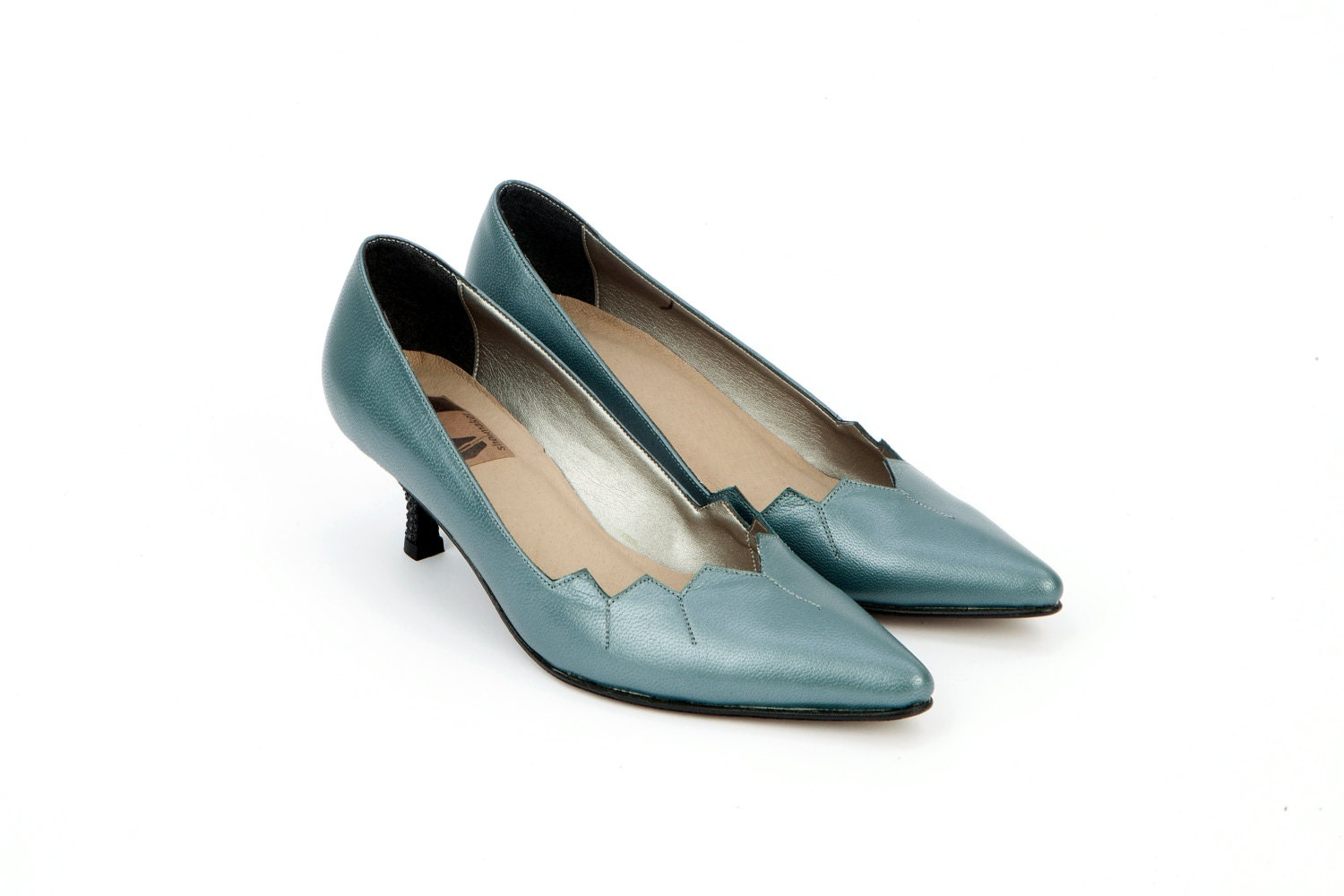 Womens Teal Dress Shoes