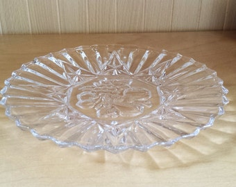 Pioneer Luncheon Fruit Plate by Federal Glass Company