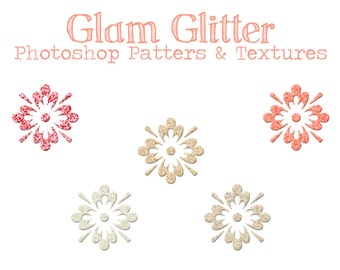 Glam Glitter Photoshop Pattern and Texture for Graphic Designers, Photographers, and Digital Scrapbookers