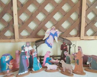 Table Top Nativity Scene