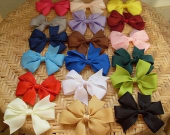 15 big bow - girl bow - teen bow - extra big bow - hair bow for teen - 5 inch hair bow - teen bow - big girl bow - girl hair bow - teen girl