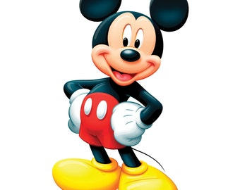 Mickey Mouse Personalized Iron On Transfer