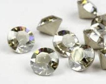 SWAROVSKI 1028 - SS19 Chaton - Crystal Silver Shade - Pack 24