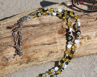 Daisy Delight Eye Glass Chain, Eye Glass Holder, Eyewear