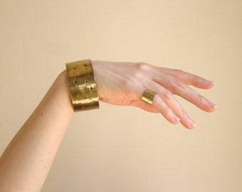 Black friday, African bracelet, african jewelry, Hammered Brass bracelet bangle, ,   festival jewelry, christmas gift