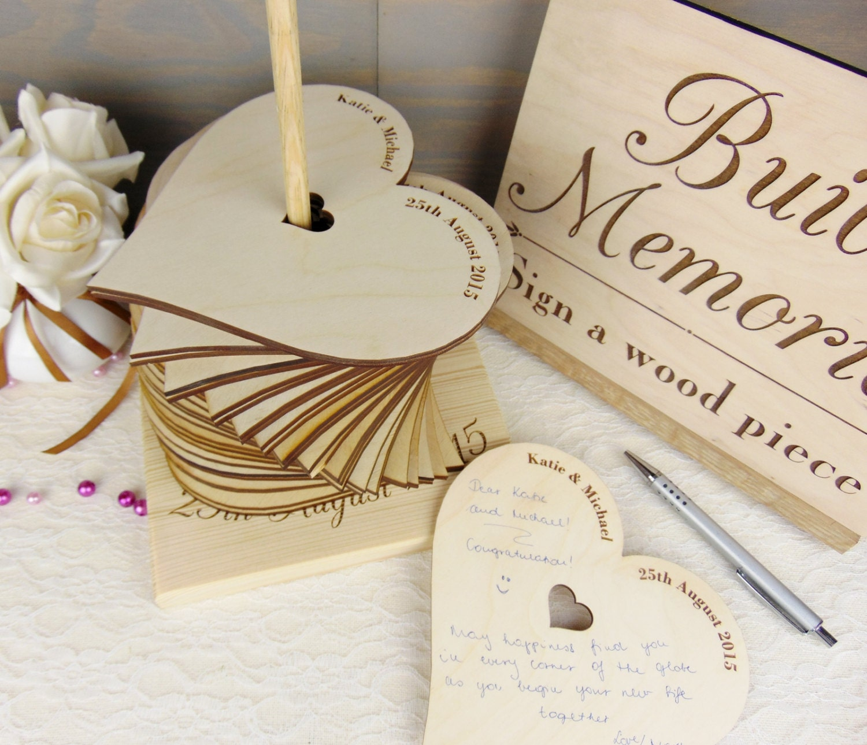 Build Memories Wedding Guest Book Custom By YourWeddingProject