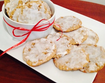 Old Fashioned Iced Oatmeal Cookies - 1 dozen