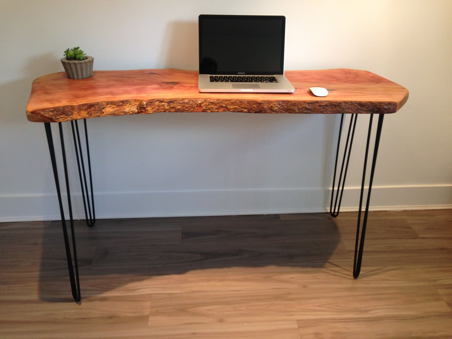 Live Edge Wood Desk Reclaimed Salvaged Wood-Modern by ...