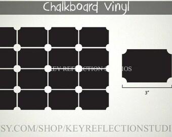 30 chalkboard labels for Michele