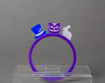 Alice In Wonderland 3 Bracelet Set