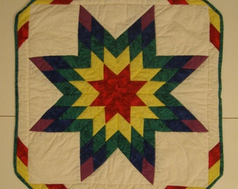 Blazing Star Miniature Quilt or Wall Hanging