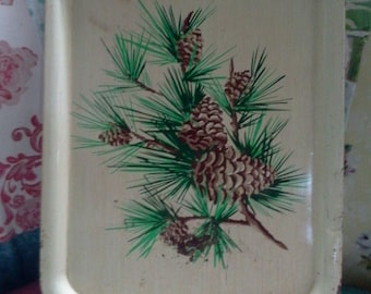 Breakfast in Bed pinecone Tray