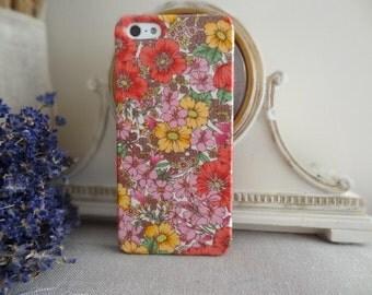 Liberty fabric iPhone & Samsung Galaxy case - Gloria Flowers