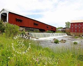 Picture of Bridgeton Covered Bridge, Parke County, Indiana