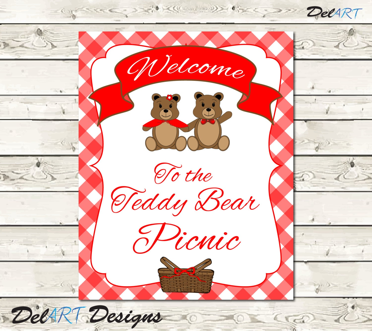 Exelent Teddy Bear Party Invites Ornament - Invitations and ...