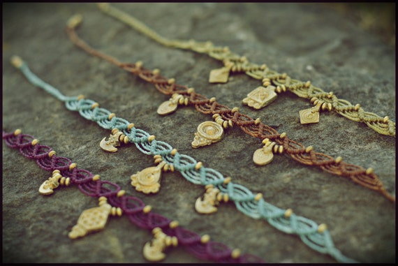 Handmade Macrame bracelet / bracelet / BRACELET. 3 options différentes dans l