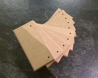 Now in 6mm 100no. 150mm x 75mm x 6mm blank mdf plaques