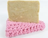 Soap and Facial Cloth Gift Idea Handmade