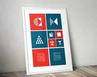 Geometric Type Poster | Charity
