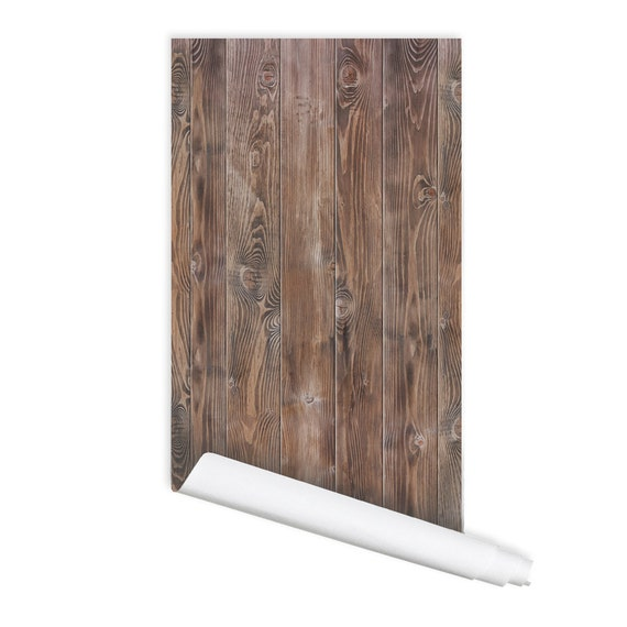 peel and stick wood wood pattern 01 peel amp stick repositionable fabric wallpaper 11085