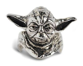 Yoda Starwars Sterling Silver 92.5%