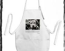 Gandhi Quote - Greatness Of A Nation Apron