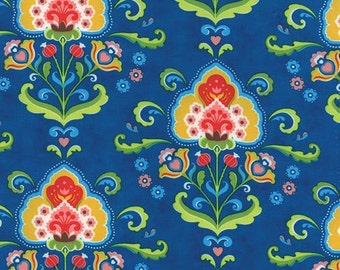Moda Fancy Katie Navy (Half metre)
