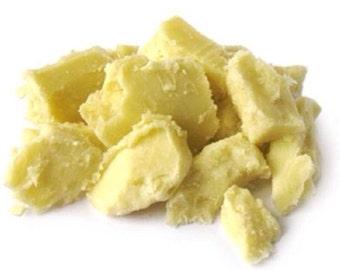 16 oz / 1 lb Organic Shea butter - Fair Trade - unrefined,raw