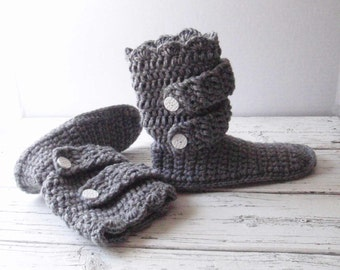 Crochet slippers, womens slippers, adult slippers, boot slippers, crocheted slippers, slippers women, teen, gift for her, knitted slippers