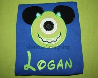 Mouse Ears Monster Shirt